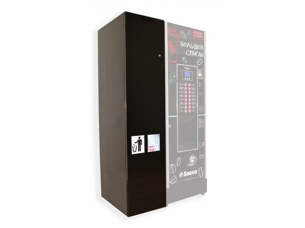 Модуль автоматической выдачи крышек  в фирменном магазине Saeco